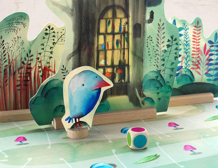 Dripp Dropp - ett vackert barnspel från Marbushka