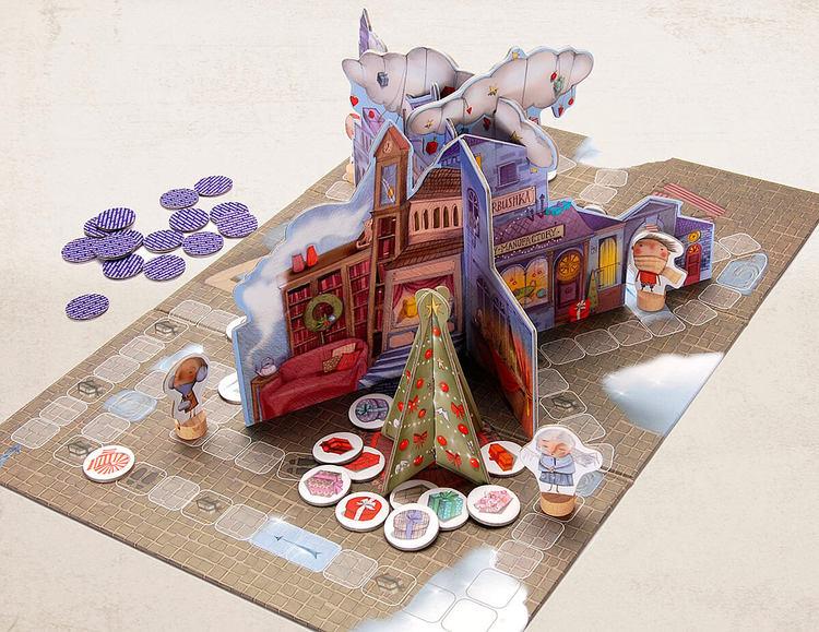 Julsagan - Ett spel om att hjälpa varandra när det är jul