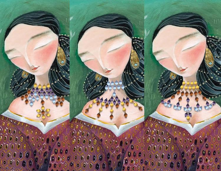 Det förlorade halsbandet - Ett vackert barnspel från Marbushka