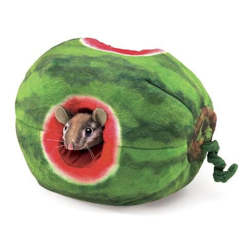 Handdocka mus i vattenmelon från Folkmanis