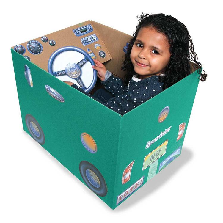 Skapa din egen lådbil från eeBoo