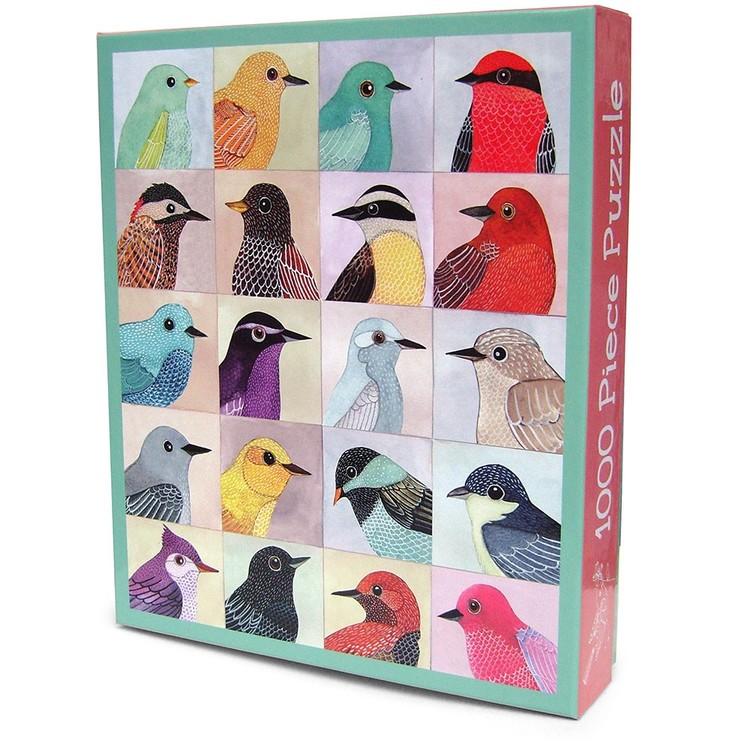 Pussel (1000 bitar) med fåglar