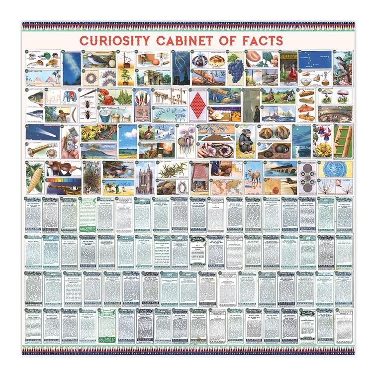 Pussel med intressanta fakta (1000 bitar) från EeBoo