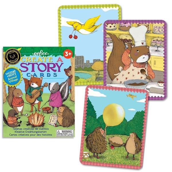Berätta en saga - Ett spel om att skapa din egen berättelse från eeBoo