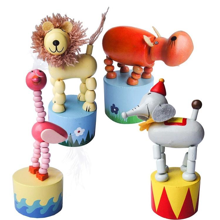 Cirkusdjur med vikbara ben