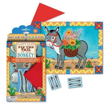 Sätt svansen på åsnan - klassisk lek till barnkalaset
