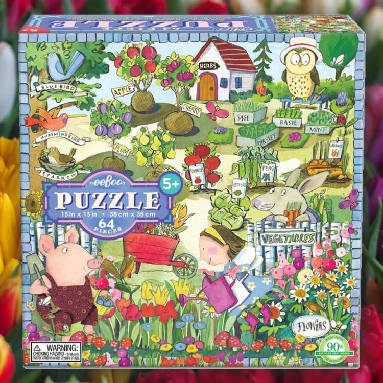 Underbart trädgårdspussel (64 bitar)