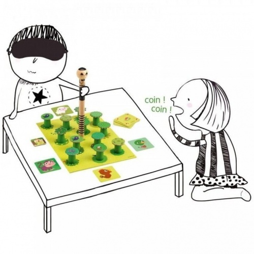 Kakafoni! - Ett barnspel med djurläten från Djeco