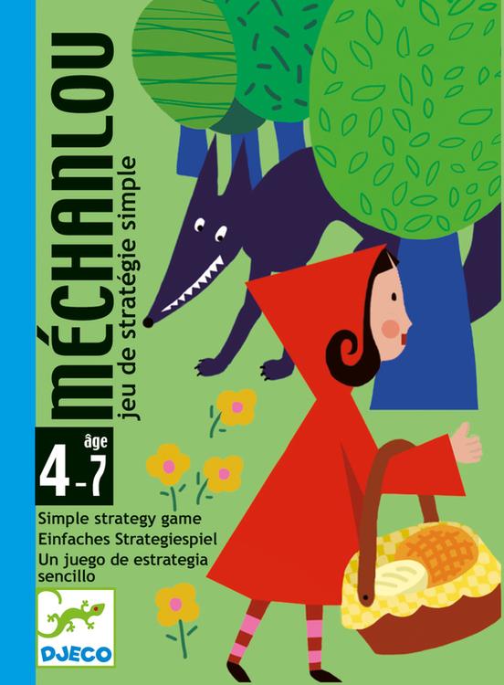 Mechanlou - Spel med Rödluvan och Vargen från Djeco