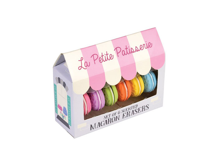 Macarons - 6 st sudd med doft av vanilj