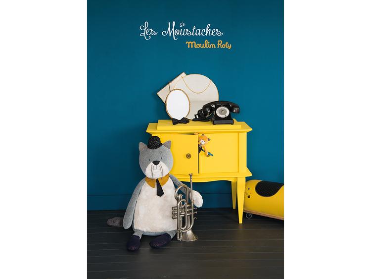 Ficklampa med berättelser 'Les Moustaches' från Moulin Roty