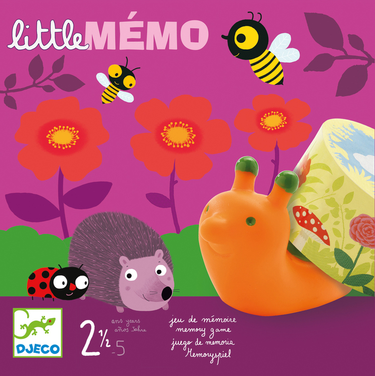 Little memo - spel för de yngsta från Djeco