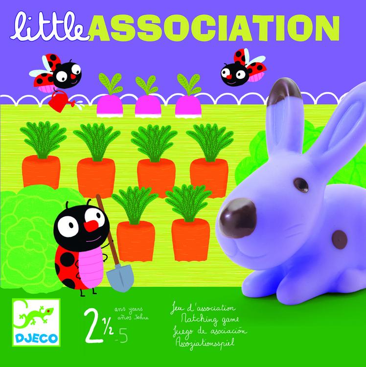 Little association - spel för de yngsta från Djeco