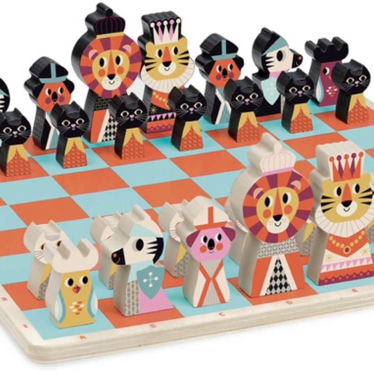 Vackraste schackspelet från Vilac