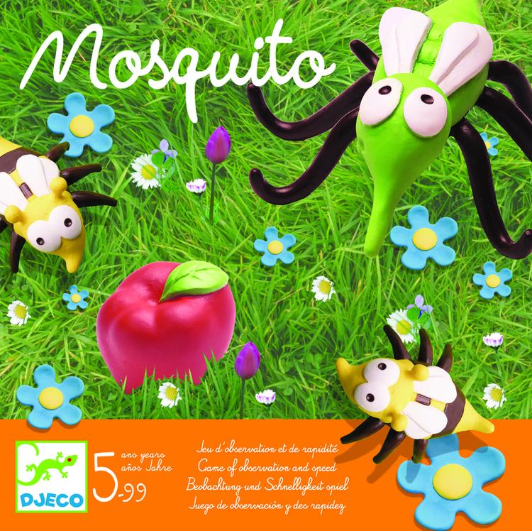 Mosquito - Spelet där det gäller att vara snabb! från Djeco