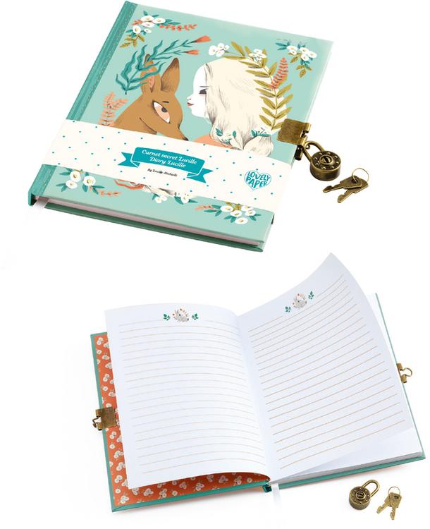 Hemlig dagbok från Djeco