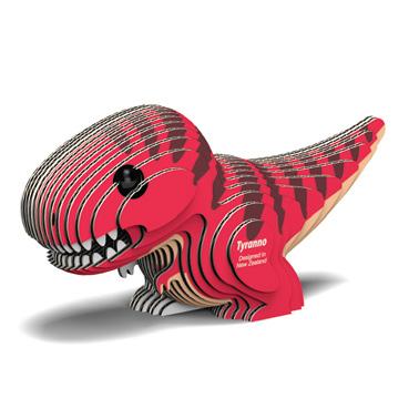 Djur från Dodoland för montering och modellbyggande dinosaurie