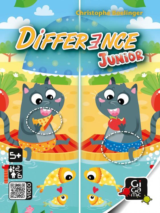 Difference (junior) - ett spel där du ska upptäcka skillnaderna