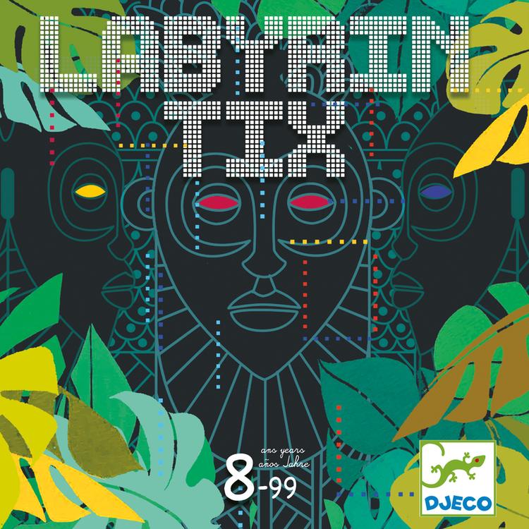 Labyrintix - Spel där du ska ta dig ut ur labyrinten