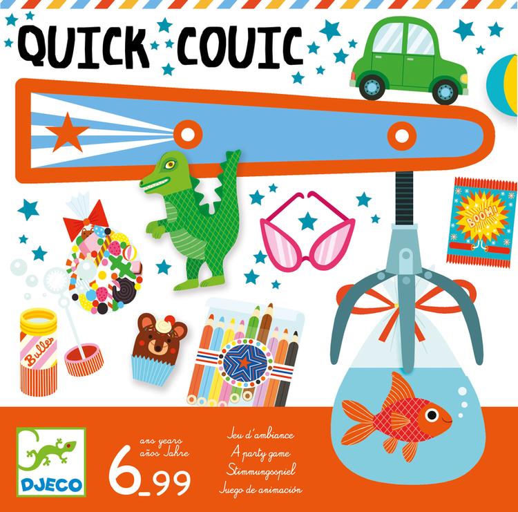 Quick couic - Spelet där du är den levande gripklon