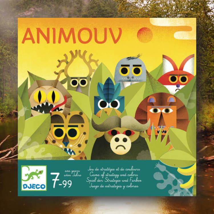 Animouv - Spel där du ska rada upp djuren
