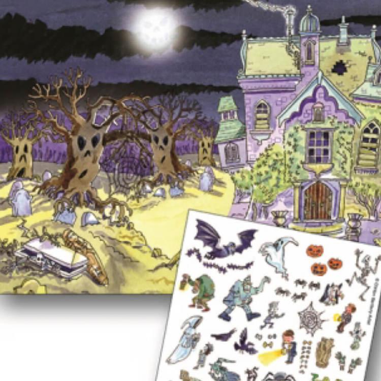 Gnuggisar Spökhuset från Scribble