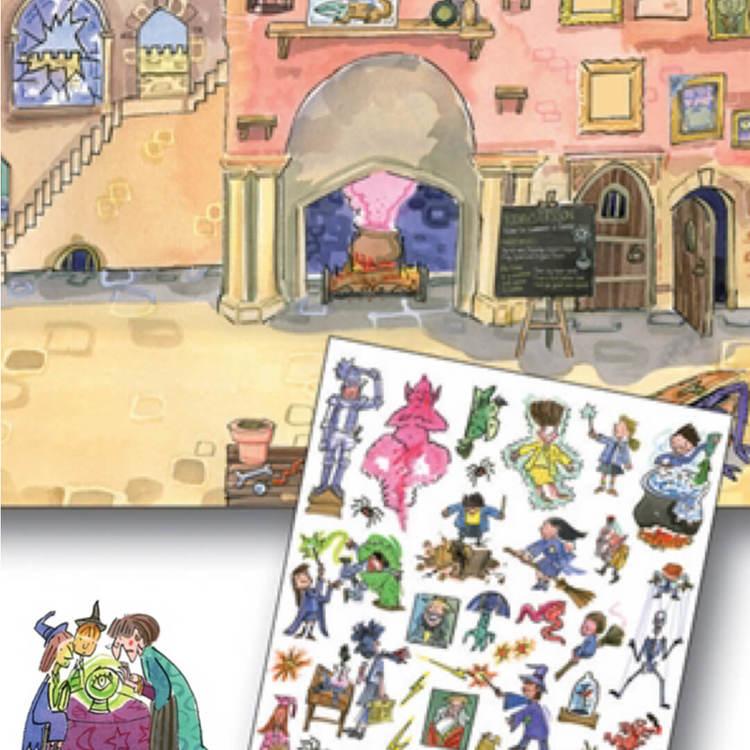Gnuggisar Skola för trollkonster från Scribble