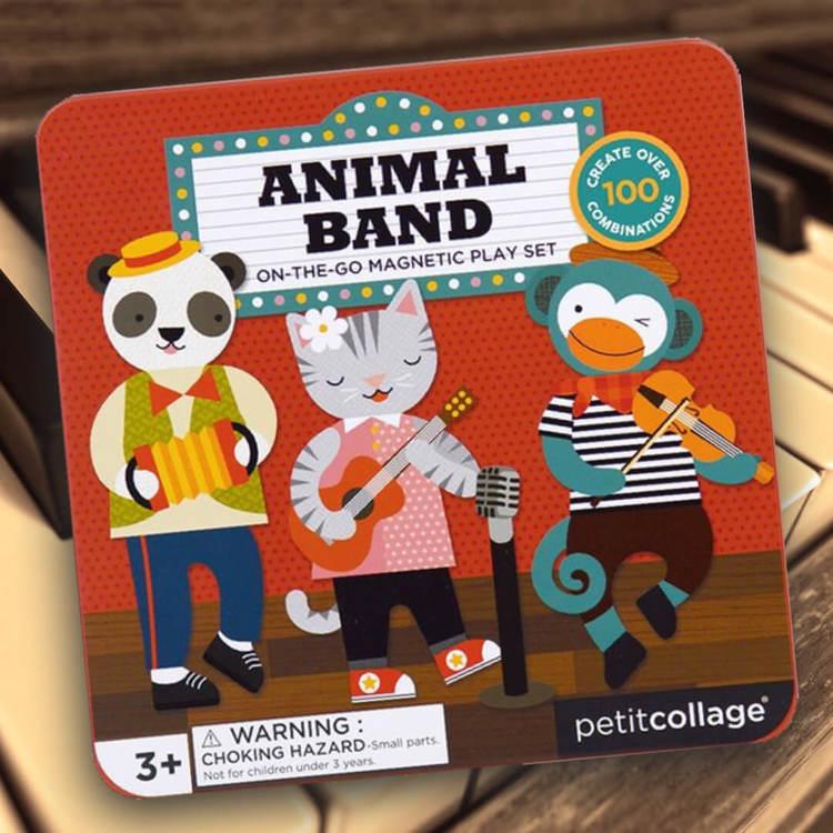 Djurorkestern - Magnetiskt lek i fin låda