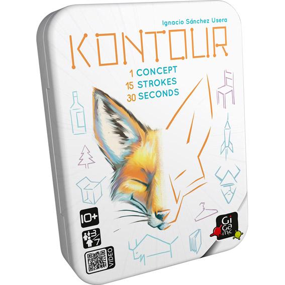 Kontour - Spelet där du ska rita