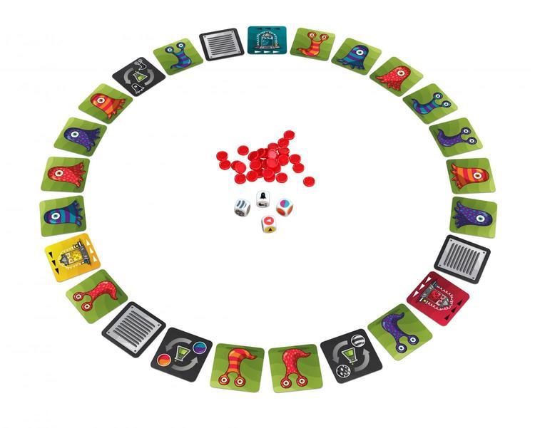 Panic Lab - Spel där du ska fånga rätt amöba