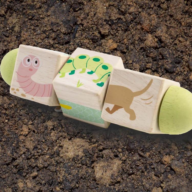 Snurrpussel 'Djur' från Tender Leaf Toys
