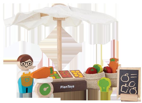 Marknadsstånd från PlanToys