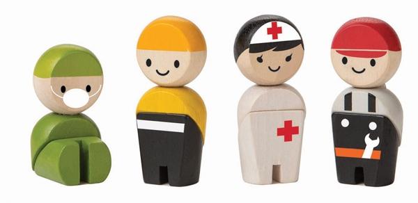 Räddningsteamet från PlanToys