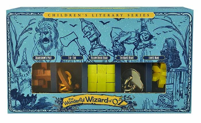 Trollkarlen från Oz - 5 stycken olika kluringar i fin förpackning