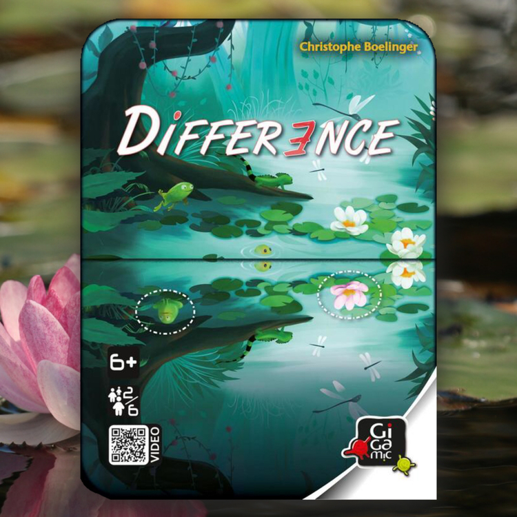 Difference - ett spel där du ska upptäcka skillnaderna