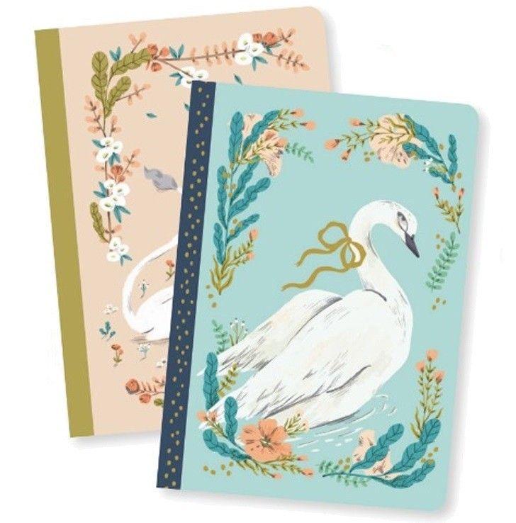 Två anteckningsböcker, Lucille från Djeco