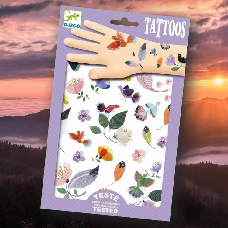 Vackra tatueringar - Svävande ting