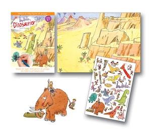 Gnuggisar Dinosaurier från Scribble