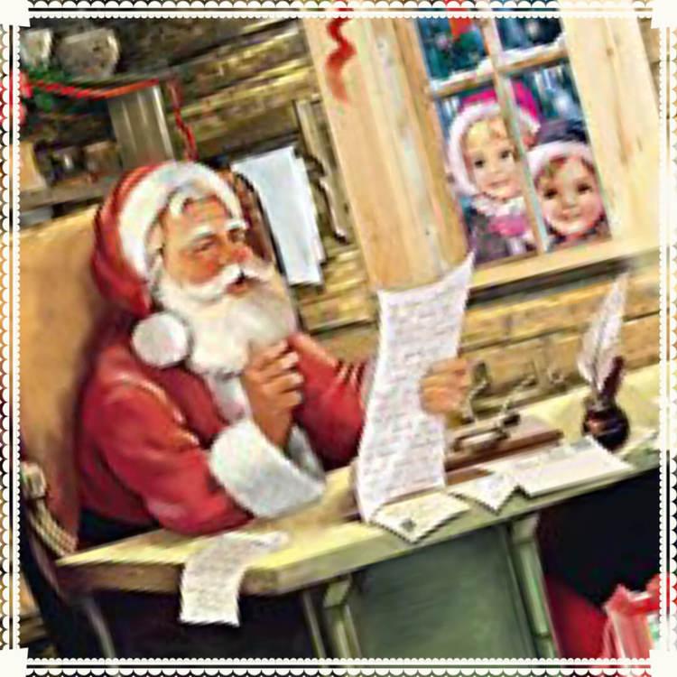 Små Adventskalendrar Julkortstorlek - Tomtemotiv med glitter - Många olika att välja bland