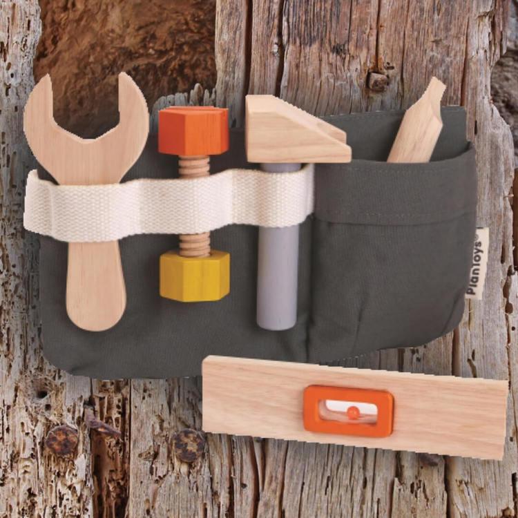 Verktygsbälte med verktyg från PlanToys