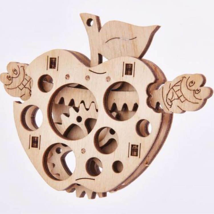 Byggsats - Maskätet äpple