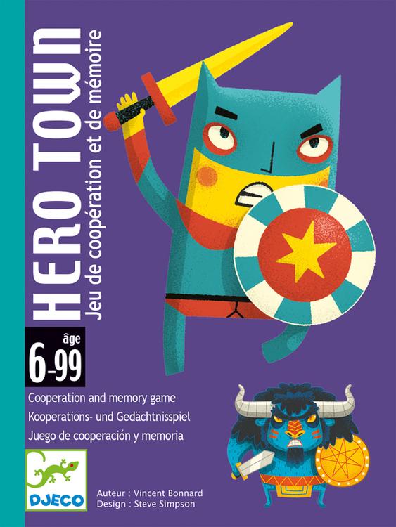 Hero Town - Bli en hjälte och rädda staden spel för barn från Djeco