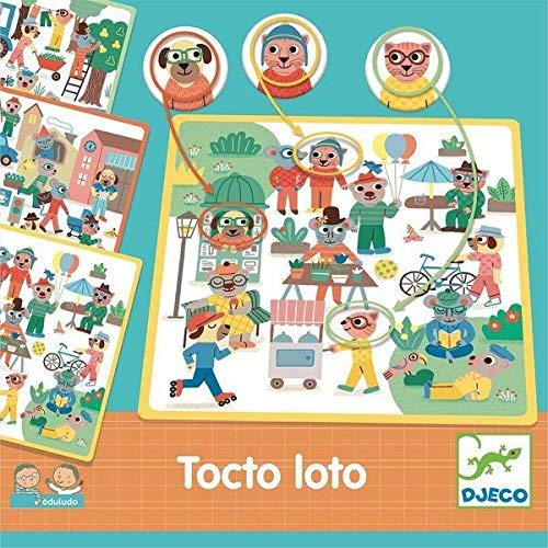 Eduludo, Tocto Loto från Djeco