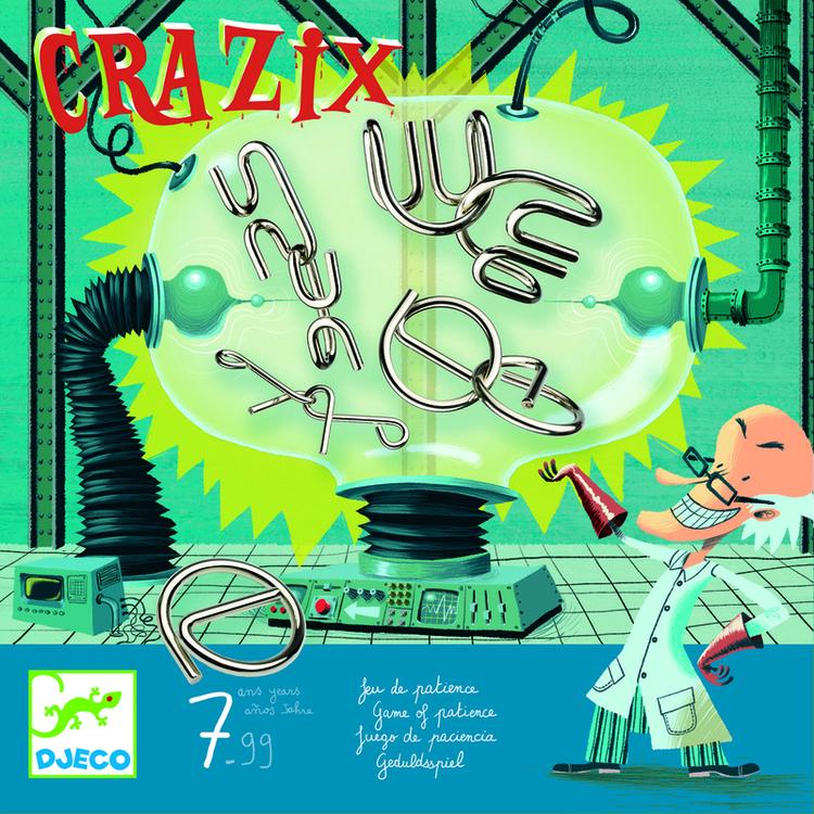 Crazix - tankenötter från Djeco