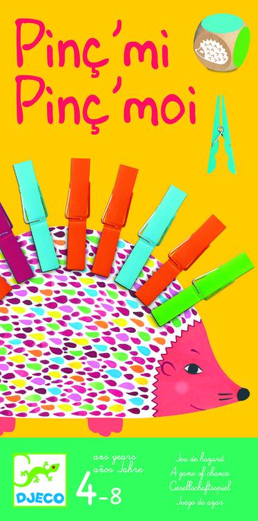 Pinc´mi Pinc´moi - Spel där det gäller att passa sig för klädnyporna från Djeco
