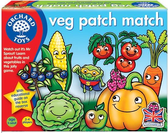 Veg Patch Match - Spelet där det gäller att få tag på rätt grönsaker