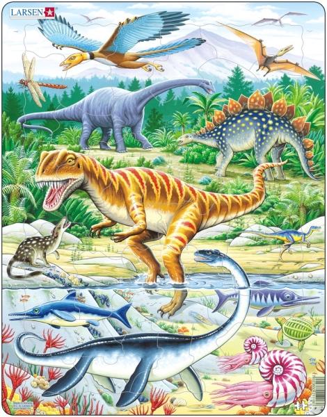Pussel - Dinosaurier (35 bitar)