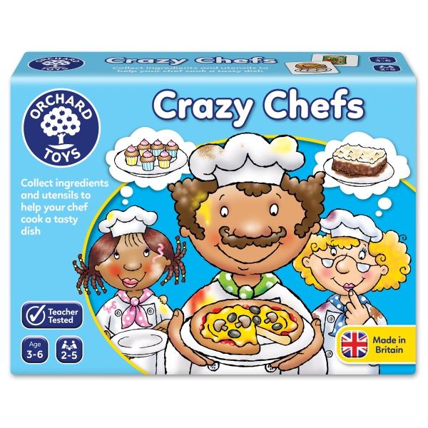 Spel med Galna Kockar (Crazy Chefs)