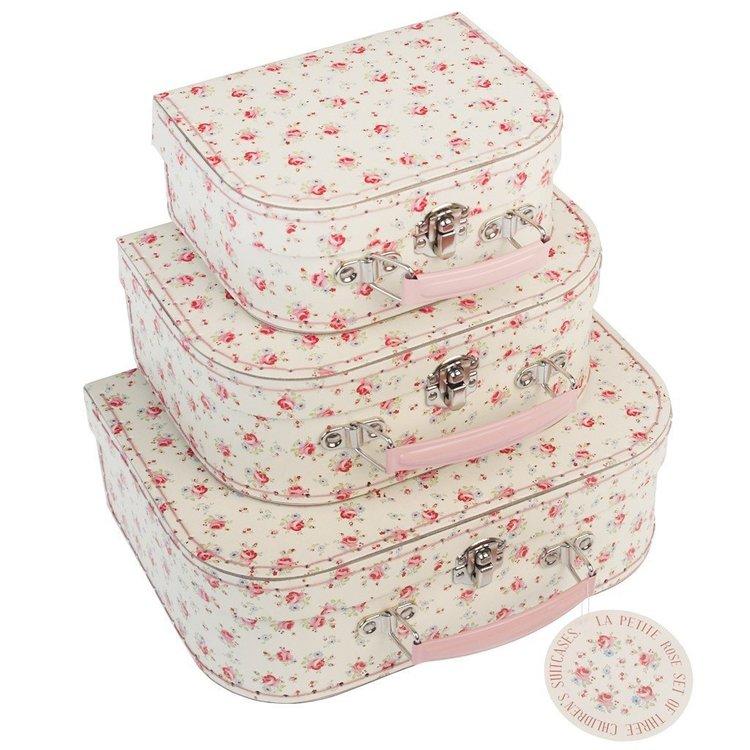Vackra väskor med rosor