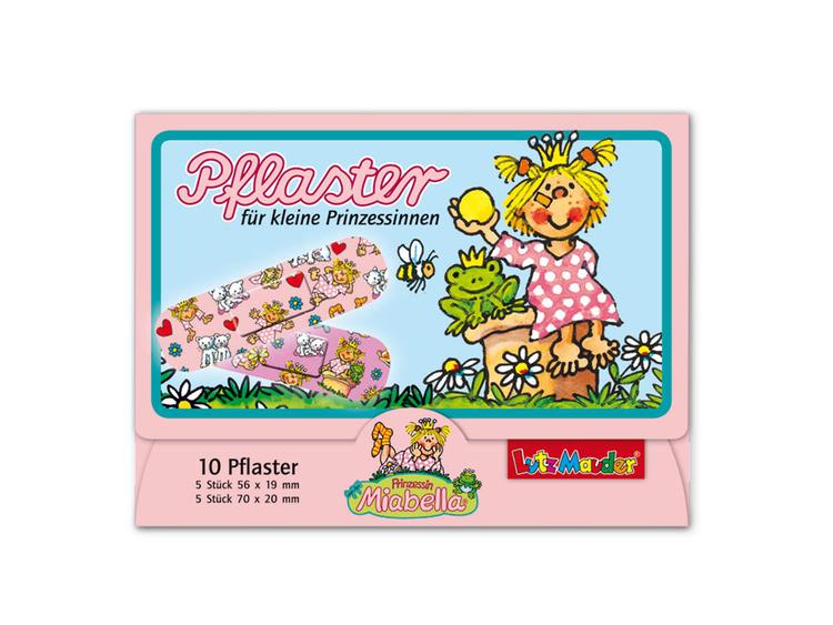 Barnplåster med prinsessa och djur